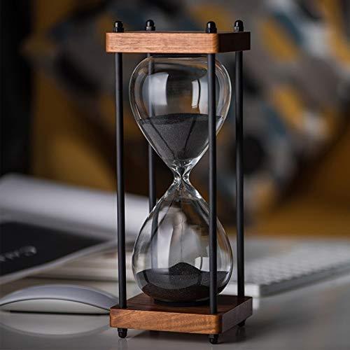 ZXZH Reloj de Arena Decorativo Reloj de Arena Artesanía Reloj de Arena vacío Regalo Creativo Inicio,Escritorio,Decoraci¨n de Oficina Decoración de cumpleaños de Navidad Regalo