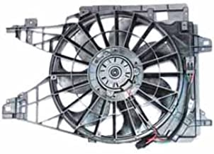 TYC 621950 Chevrolet Corvette Replacement Radiator/Condenser Cooling Fan Assembly