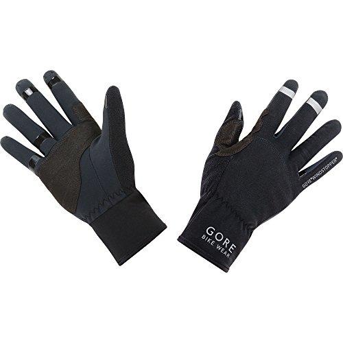 GORE BIKE WEAR, Guantes Unisex para ciclismo, GORE WINDSTOPPER, UNIVERSAL Gloves, Talla 9, Negro, GWSUNI