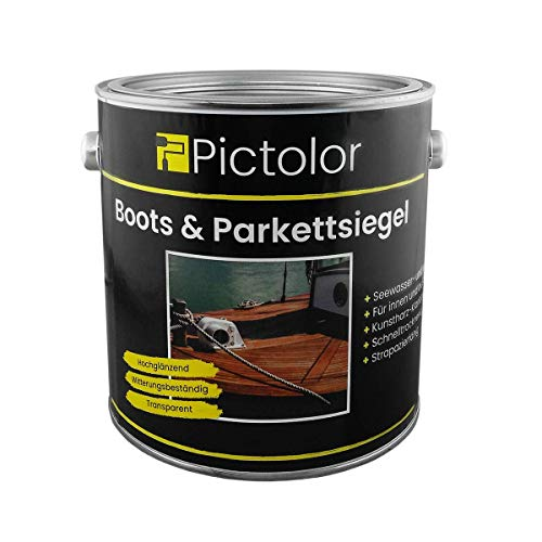 Pictolor Boots- und Parkettsiegel 2,5 Liter transparent