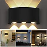 OUSFOT Wall Light Up and Down Indoor Wall Lamp 3000K LED Modern Sconces for Bedroom Living Room (Warm White)