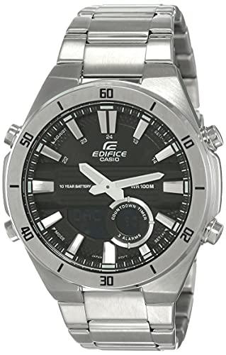 Casio Edifice Bluetooth Connect Analog-Digital Black Dial Men's Watch ERA-110D-1AVDF(EX456)