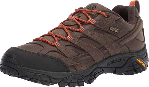 Merrell mens Moab 2 Prime Waterproof Hiking Shoe, Canteen, 14 US
