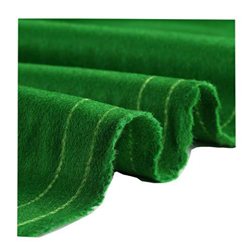AMZH Billardtuch Verbundfaser Material Hitze- und Verschleißfestigkeit Weich und bequem Billardtischdecke Grün Billard Tischtuch Filz Geeignet für Billardtische