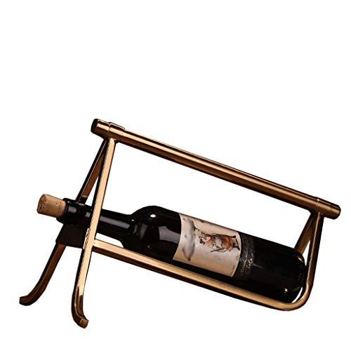 DJY-JY Almacenamiento del tenedor del vino del estante del vino, 34 × 15 × 24 cm