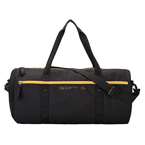 OIWAS Unisex sporttas, klein, sportieve reistas, schoudertas, waterdichte tas voor fitness, zwembad, ziekenhuis of weekend, 25 l