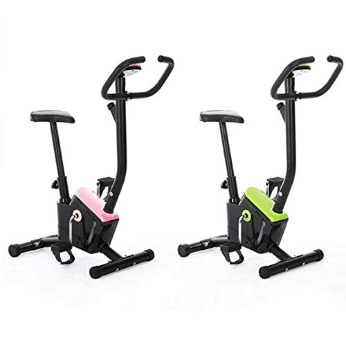 DYYTR Indoor Cyclette, Indoor Cycling Cyclette, Monitor LCD E Standard per La Casa,Rosa