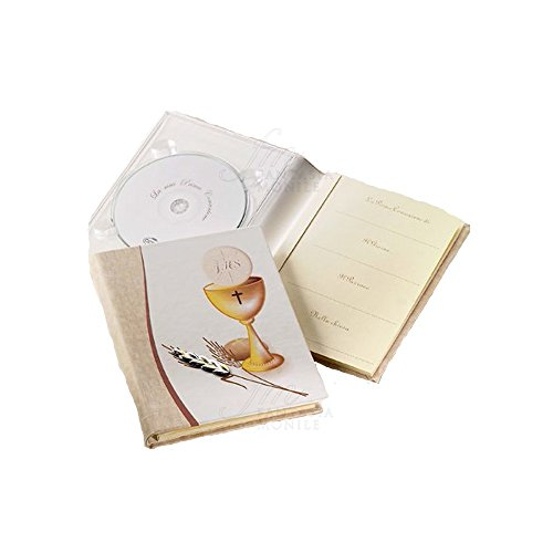 Fotoalbum mini eerste communie met CD-houder Acca 187DH.16