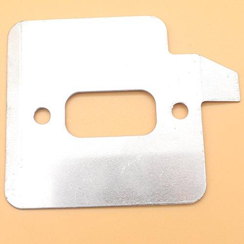 Auspuff Schalldämpfer Wärme transparent Kühlung Teller für Husqvarna 362365371372XP 372x p 375K Chainsaw # 503–77–58–02Zylinder Kühlung