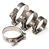 Powerful Stainless Steel Strengthens The Clamp Hose Clamp Circular Air Water Pipe Fuel Hose Clip di Water Pipe Fasteners Clamps Dia.36-39 mm