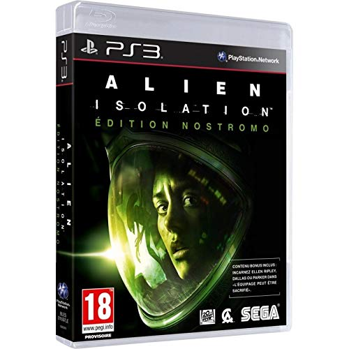 SEGA Alien Isolation: Nostromo Edition, PS3 Basic PlayStation 3 Francese videogioco