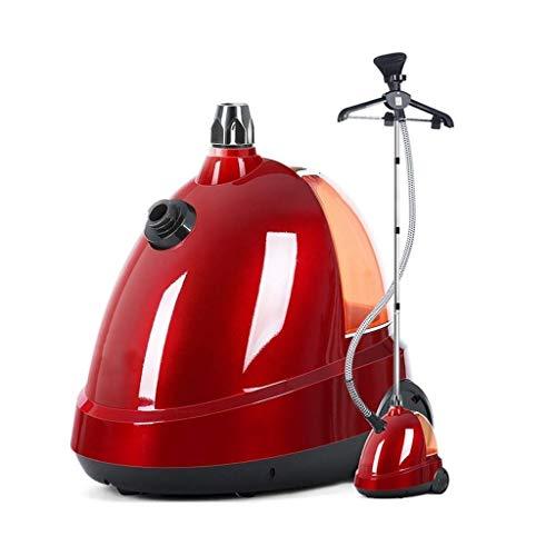 MYXMY Hogar Aparato pequeño Vapor de la máquina de Planchado, visualizado Tanque de Agua Puede Girar unipolar Multifuncional Tienda de Ropa Plancha eléctrica, Rojo