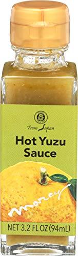Muso From Japan Hot Yuzu Sauce, 3.2 Fl Ounce