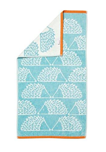 Scion living Serviette Invite, 100% Coton, Turquoise, 30 x 50 cm