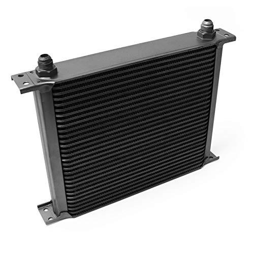 Aluminium Ölkühler 30 Reihen Schwarz Öl Kühler Oil Cooler Ölkühlung Kühlung