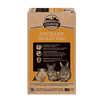 Petlife Oxbow Orchard Grass Hay for Small Pet, 4.05 Kg