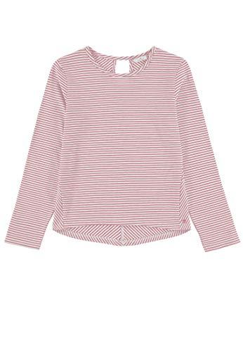 TOM TAILOR Kids Mädchen Striped Sweatshirt, Rosa (Conch Shell 2176), (Herstellergröße: 176)