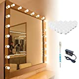 Makeup Vanity Lights for Mirror, Hollywood Style LED Vanity Mirror Lights with 20 dimmable Bulbs,48W