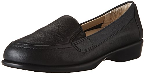 Hush Puppies Women's Tacye Hyatisse Slip-on Loafer, Black, 8.5 N US