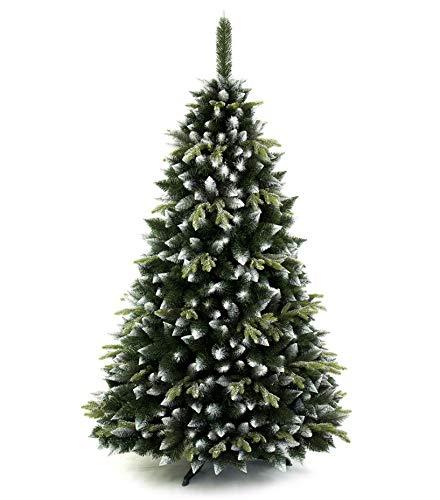 DWA ARBOL Navidad Grande en Caja, Bosque Tradicional Verde Soporte (180 cm, Canadian Pine)
