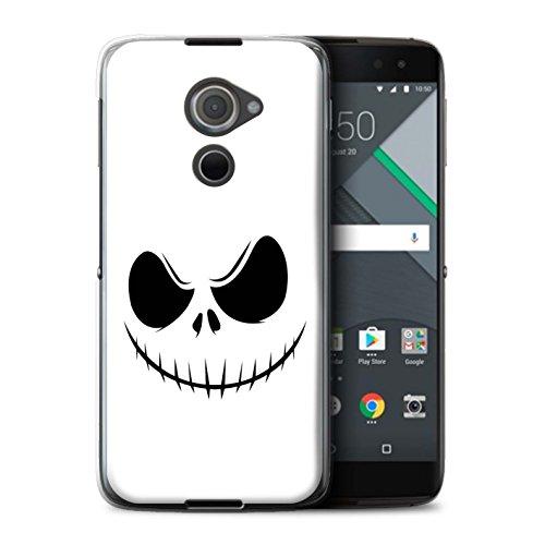 Hülle Für BlackBerry DTEK60 Grusel Filmkunst Jack Skellington Inspiriert Kunst Design Transparent Ultra Dünn Klar Hart Schutz Handyhülle Case