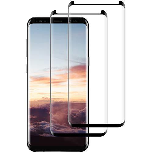 DASFOND 2 Pezzi,Vetro Temperato per Samsung Galaxy S9, Pellicola Protettiva Vetro per Samsung S9, 9H Durezza, Anti-Graffi, Anti Impronta, Senza Bolle, Facile Installazione, Samsung S9 Tempered Film