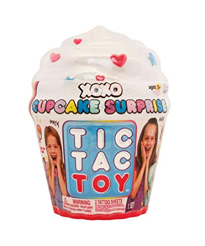 Tic Tac Toy XOXO Cupcake Surprise | Mix & Match Fun and Cute Collectibles and Accessories | Great Toy & Gift for Girls