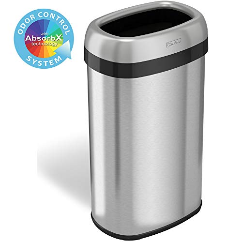 commercial bathroom trash cans - 4