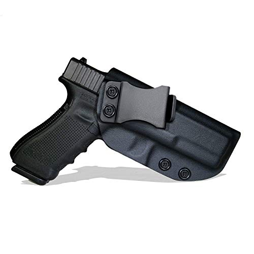 Spheresun Glock Holster, IWB KYDEX Holster Custom Fit: Glock 26 27 33 (Gen 1-5) | Retired Navy Owned Company | Inside Waistband Concealed Carry Holster| Adjustable Cant