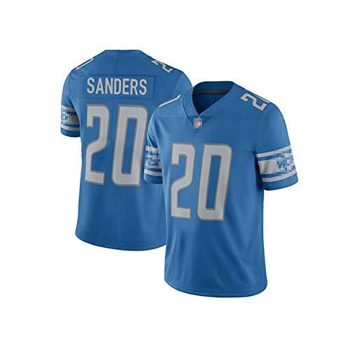 HSSE Blu, Lions, 20# SANDERS, uniforme da calcio, asciugatura rapida, traspirante, riutilizzabile., Materiale, Colore, large