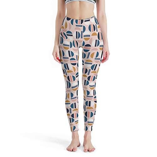 NiTIAN dames print yoga loopbroek broek broek elastisch ademend leggings lang hardlopen streetwear skinny legg