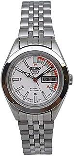 ساعة سيكو اوتوماتيكية 21 ساعة تقويم من الفولاذ المقاوم للصدأ للسيدات SYMF95J