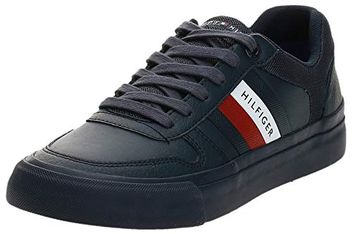 Tommy Hilfiger Herren Leon 21 Sneaker, Blau (Desert Sky Dw5), 42 EU