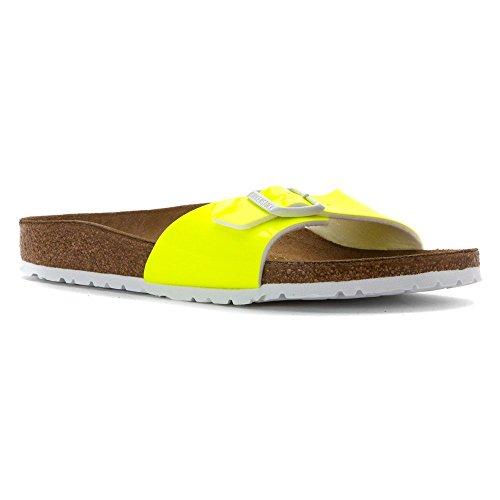 BIRKENSTOCK, Damen Sandalen, Gelb - gelb - Größe: 38