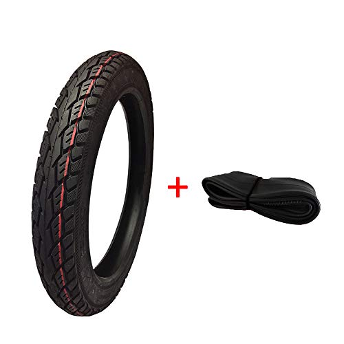 New XULONG Electric Scooter, Motorbike Tyres, 2.50-14 6-Layer Inner and Outer Tires Reduced Resistan...