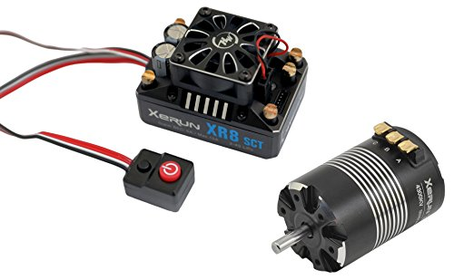 38020411 XR8 SCT Pro ESC Combo with 3660 SD-A 4300kV Sensored Brushless Motor