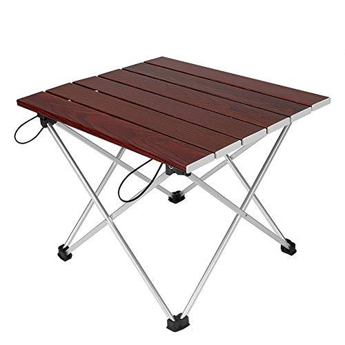 CXQD Faltbarer Outdoor-Faltbarer Aluminium-rechteckiger Tisch tragbarer Schreibtisch Picknick Camping Barbecue-Tool