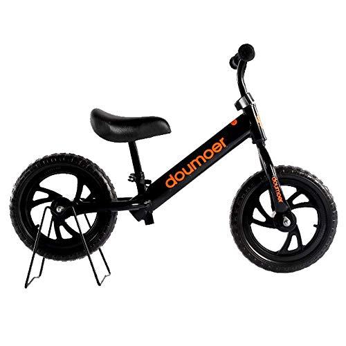 JIAMING - Bicicleta para niños, 12 pulgadas, patio, jardín, exteriores, 4 colores opcionales (color negro, tamaño: 12 pulgadas)