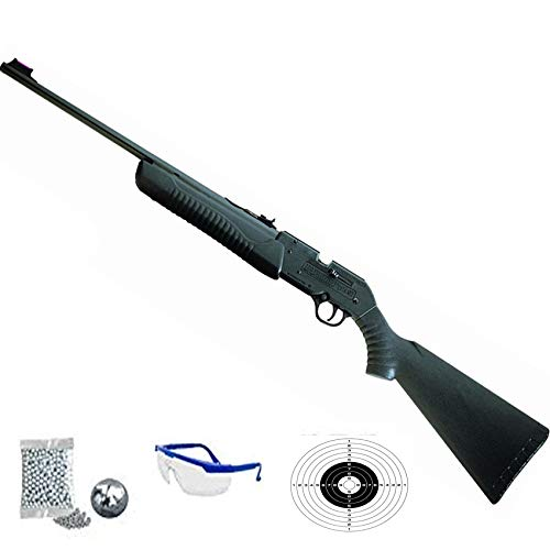 Daisy Shadow 901- Carabina de balines + Gafas y dianas - Rifle de perdigones <3,5J