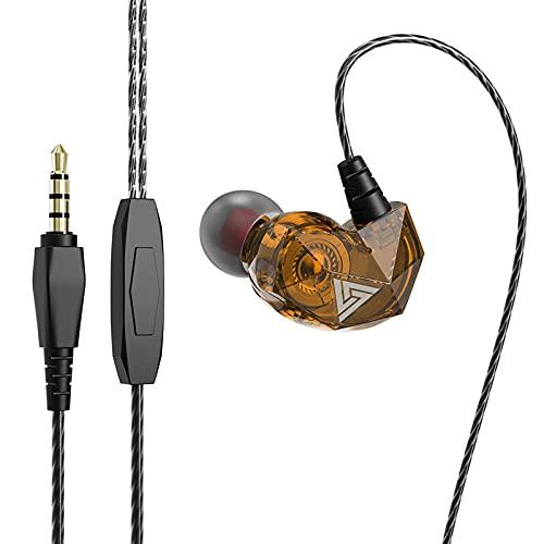 Freljorder AK2 Kabelgebundener Kopfhörer 3,5 mm HiFi-Diamant-Rumpf-Sounds Helle Heavy Bass-Ohrstöpsel