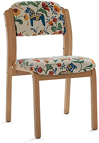 ZGYZ Durable Housewares Wooden Folding Chairs for Cafe,Bistro,Dining,Restaurant,for Equally ideal for Both Home and Indoor Outdoor,Family Practical Chair