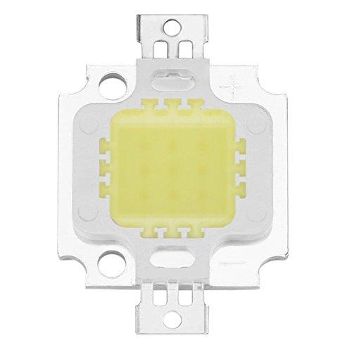 Delicacydex L'ÉPI Blanc Pur de Puissance Élevée SMD a Mené la Perle de Lampe de Lumière d'inondation de Puce 10W La Chaleur Basse produisant l'énergie d'économie respectueuse de l'environnement