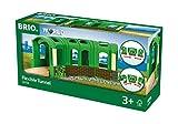 BRIO- Tunnel Flessibile, Multicolore, 33709