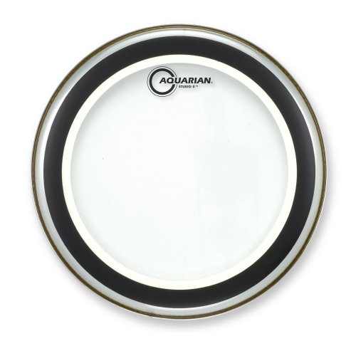 Aquarian Drumheads SX13 Studio-X Clear 13-inch Tom Tom Drum Head