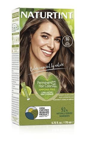 Naturtint Permanent Hair Colors Light Golden Chestnut (5G) 5.28 Fl. oz.