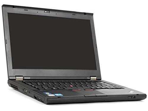 Lenovo ThinkPad T430 Business-Serie Intel® Core(TM) i5-3320M (3M Cache, 2,60 GHz), 14.0 Zoll HD 1366 x 768 mit LED, HD-Kamera (720p) Win 7 (Generalüberholt)
