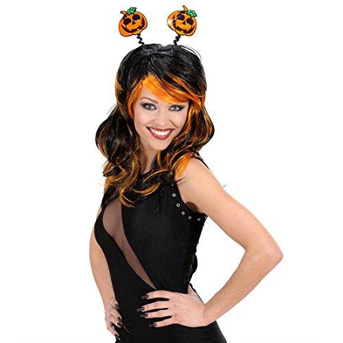 NET TOYS Halloween Serre-tête citrouilles Bandeau pour Cheveux Accessoire Cheveux Serre-tête à citrouilles Halloween Accessoires Mardi Gras Carnaval