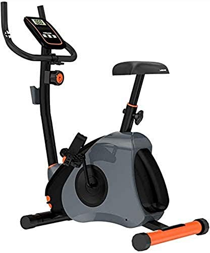 Wghz Bicicleta de Ciclismo de Interior estacionaria - Bicicleta de Ciclo con cómodo cojín de Asiento, Bicicleta giratoria silenciosa Gimnasio en casa Equipo de Control magnético Auto Ejercicio in