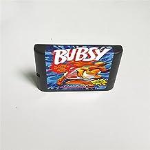 Lksya Bubsy in Claws Encounters of the Furred Kind - Carte de jeu MD 16 bits pour cartouche de console de jeu vidéo Sega M...