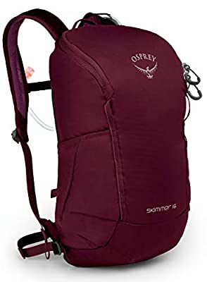 Osprey Packs Skimmer 16 Women's Hydration Pack, Plum Red, One Size